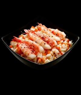 crevettes & surimi