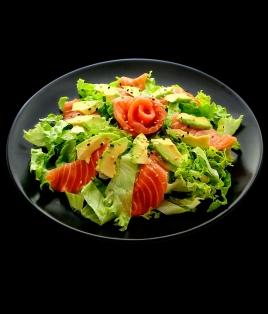 Salade saumon avocat