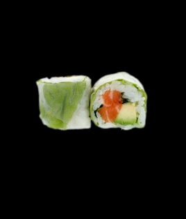 Printemps roll saumon avocat