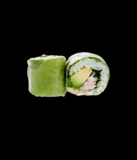 Printemps roll crevette avocat