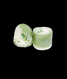Printemps roll comcombre cheese