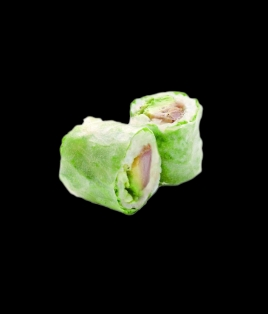 Printemps roll poulet grillé avocat