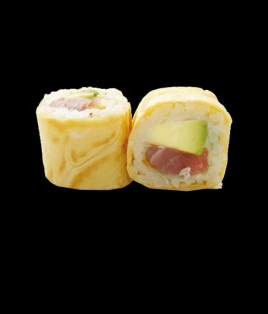 Egg roll thon avocat