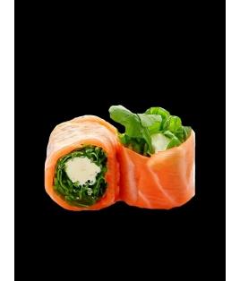 Roquette saumon cheese