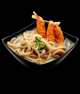 Soupe Udon avec champignons
